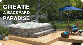 Create a backyard Paradise
